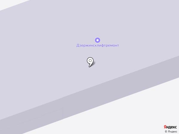 Детский сад №65 на карте Дзержинска