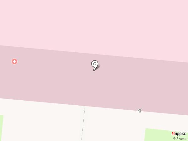 Городская больница №2 на карте Дзержинска