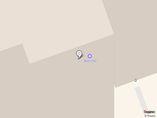 Центр подготовки и переподготовки специалистов промышленных предприятий, ННГУ на карте Дзержинска