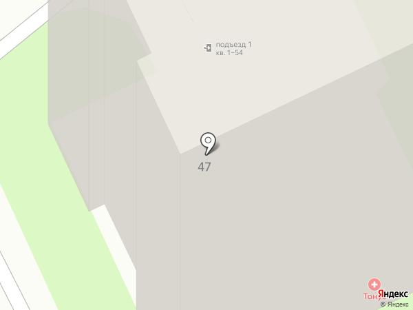 Тонус на карте Дзержинска