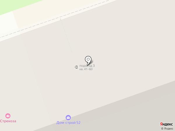 Дом-Строй 52 на карте Дзержинска