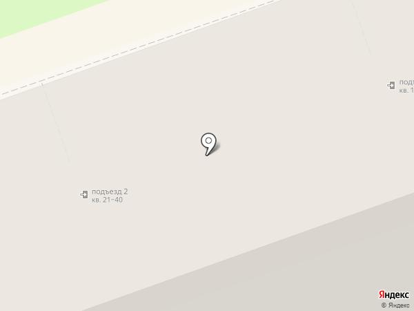 Малина на карте Дзержинска