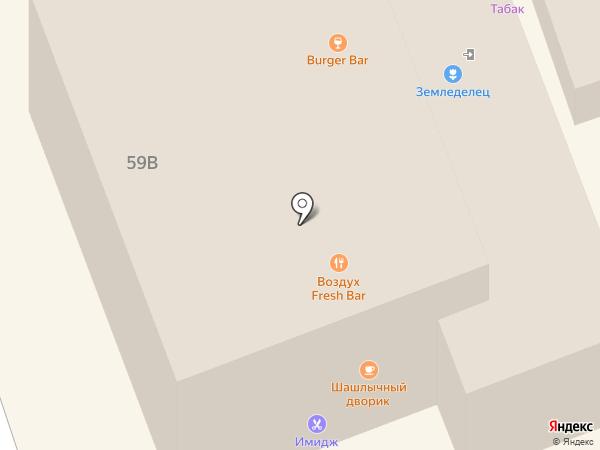 Земледелец на карте Дзержинска