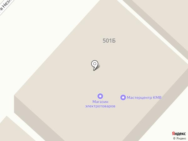 Эталон на карте Незлобной