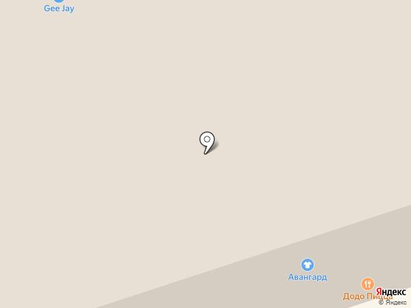 Баттерфляй на карте Дзержинска