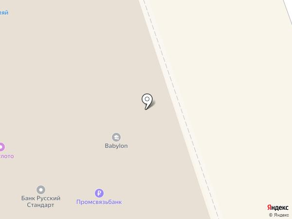 Банкомат, Райффайзенбанк на карте Дзержинска