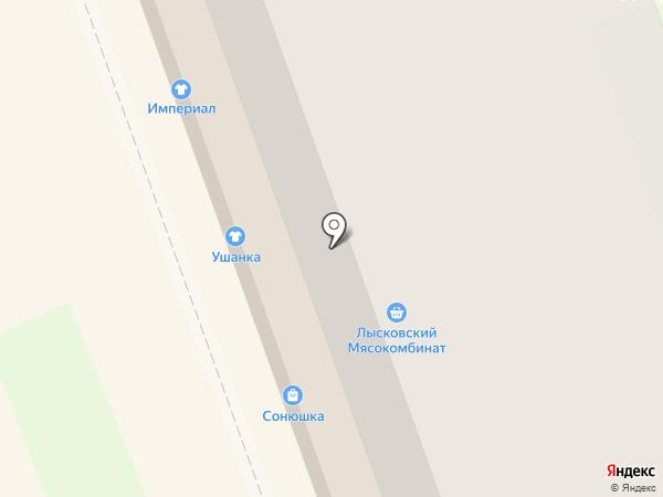 Ушанка на карте Дзержинска