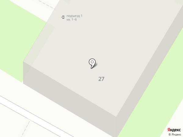 Участковый пункт полиции Управления МВД России по г. Дзержинску на карте Дзержинска