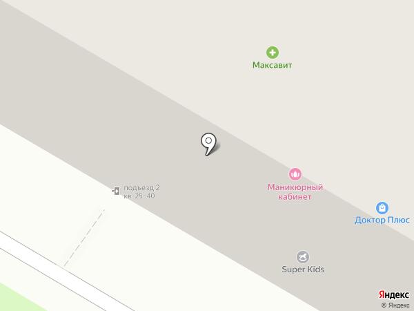 Сеть продуктовых магазинов на карте Дзержинска