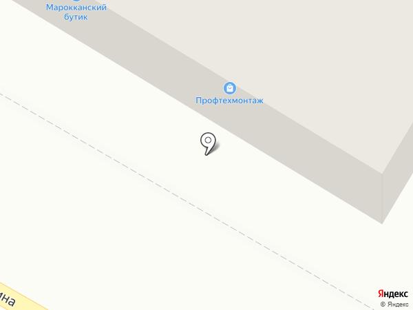 Индейкин дом на карте Дзержинска