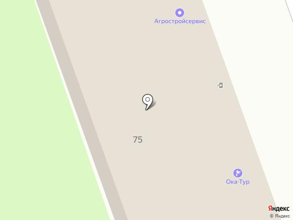 Ока-Тур на карте Дзержинска
