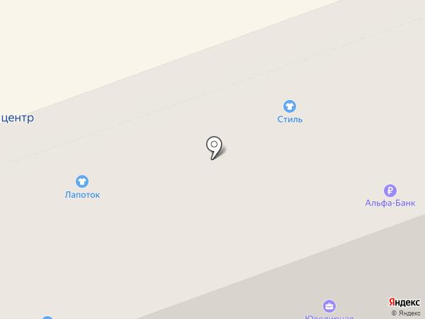 Стиль на карте Дзержинска