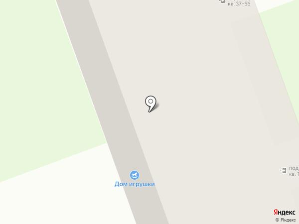 Руно на карте Дзержинска