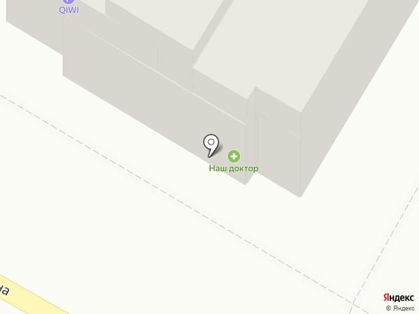 Продуктовый магазин на карте Дзержинска