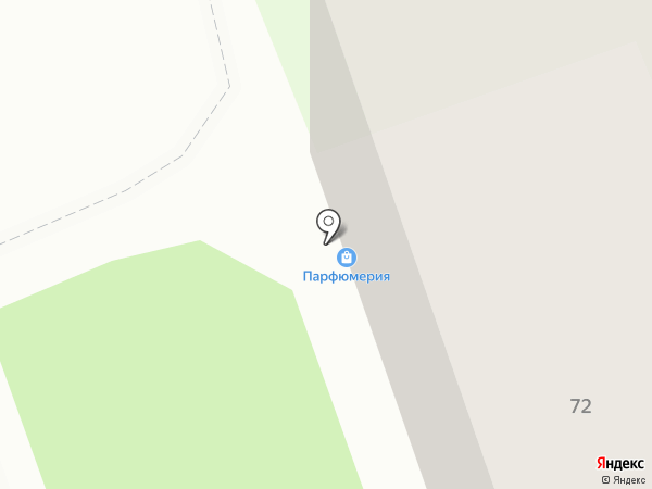 Сеть магазинов на карте Дзержинска
