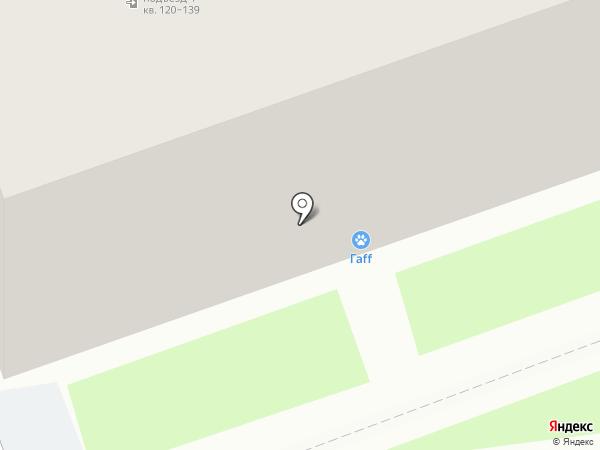 Гаff на карте Дзержинска
