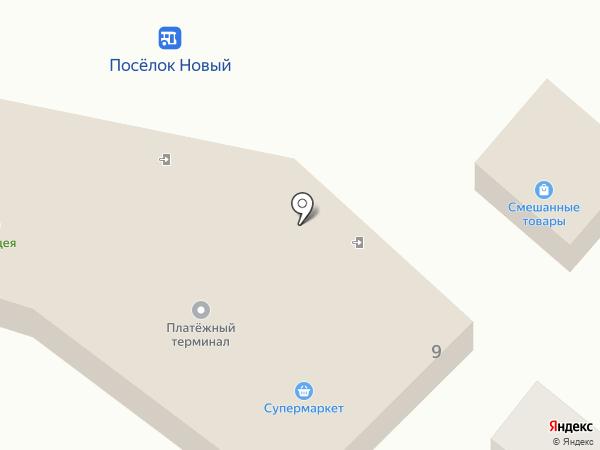 Панацея на карте Нового