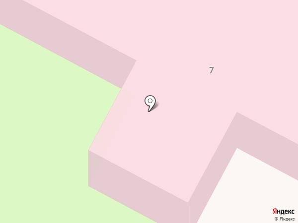 Детская городская поликлиника №8 на карте Дзержинска