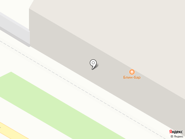 Блин-бар на карте Дзержинска
