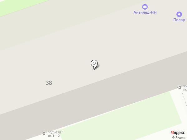 Полар на карте Дзержинска
