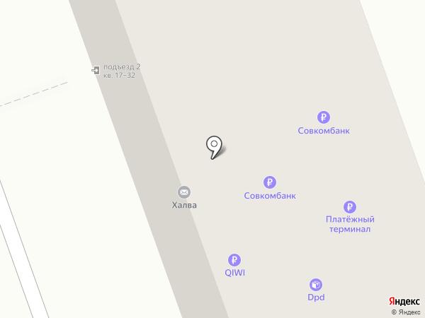 Закусочная на проспекте Циолковского на карте Дзержинска