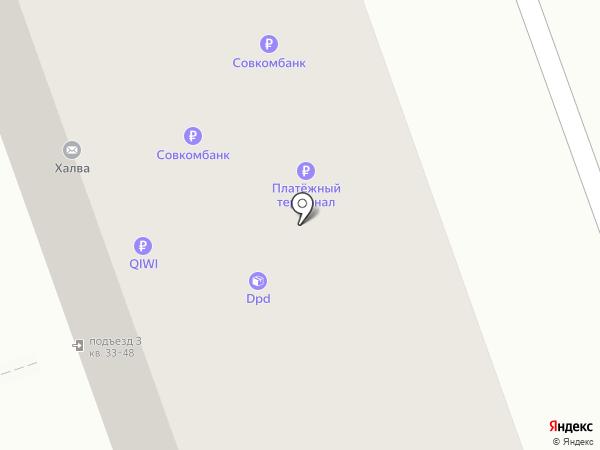 Магазин молочной продукции на карте Дзержинска