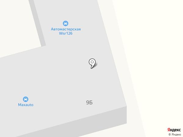 Форсаж на карте Незлобной