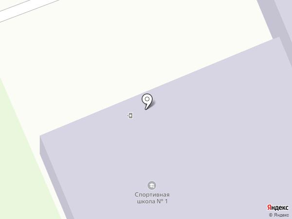 ДЮСШ №1 на карте Дзержинска
