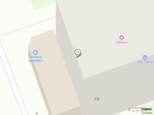 Добрый свет на карте Дзержинска
