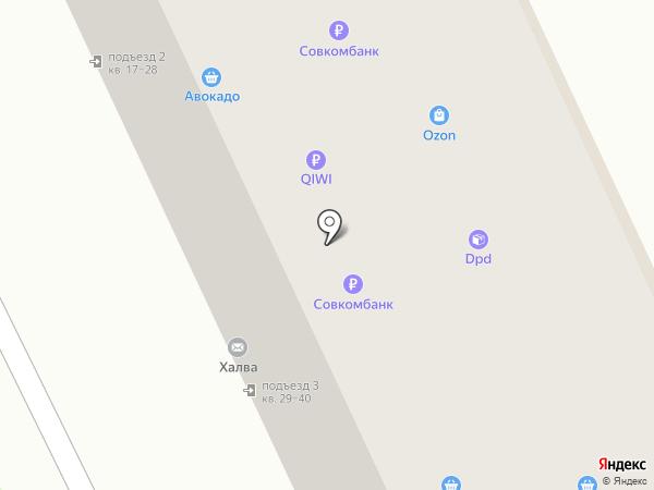 Рубин НН на карте Дзержинска