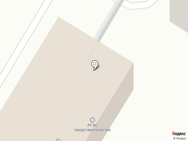 Ростовский государственный экономический университет на карте Георгиевска