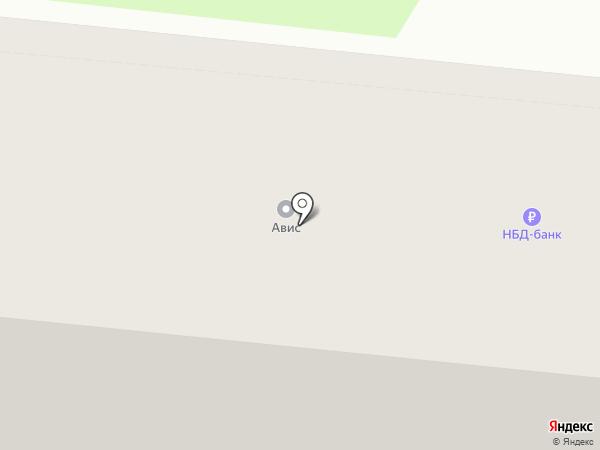 Банкомат, НБД-банк, ПАО на карте Дзержинска