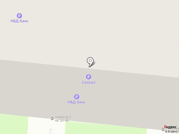 Банкомат, НБД-Банк на карте Дзержинска