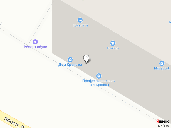 Магазин крепежных изделий на карте Дзержинска