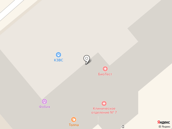 ИНВИТРО на карте Георгиевска