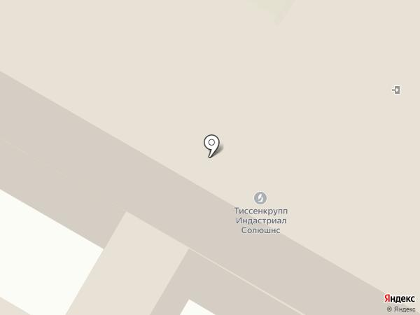 Алькор на карте Дзержинска