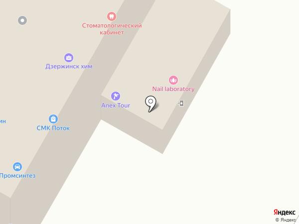 Народные инвестиции-город, КПК на карте Дзержинска