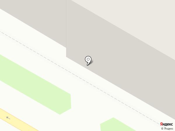 Реальный выбор на карте Дзержинска