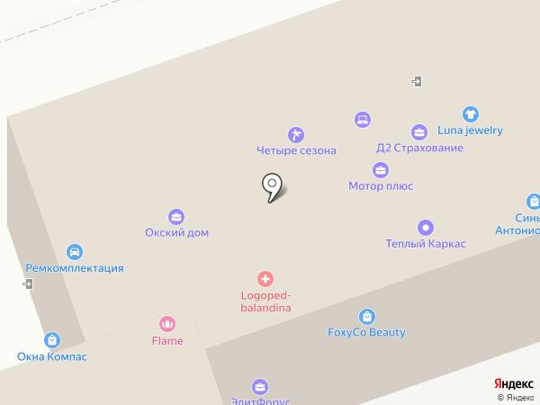 МОТОР-ПЛЮС на карте Дзержинска