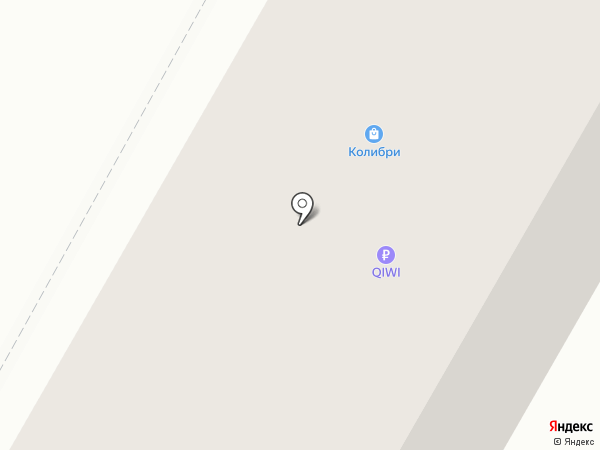 Есения на карте Дзержинска