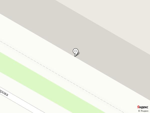 Магазин хозтоваров на ул. Бутлерова на карте Дзержинска
