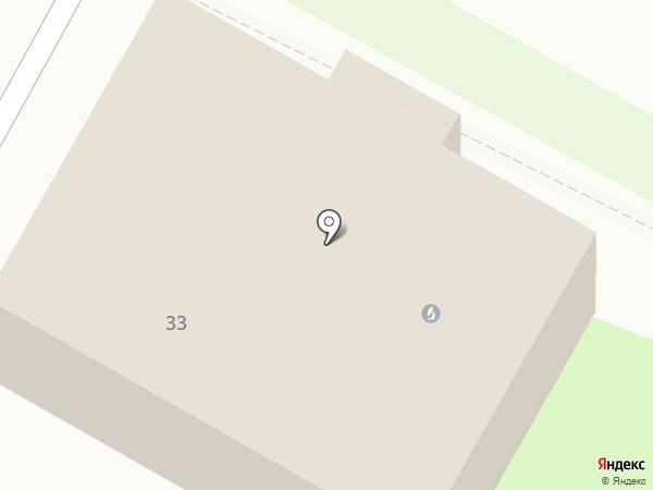 Японец на карте Дзержинска