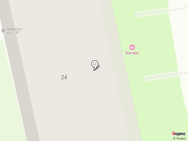 Строймаг на карте Дзержинска