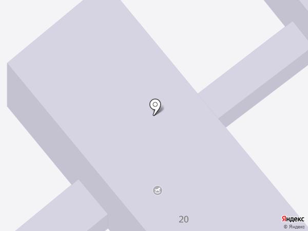 Детский сад №16, Колокольчик на карте Георгиевска