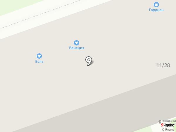 Kaleva на карте Дзержинска