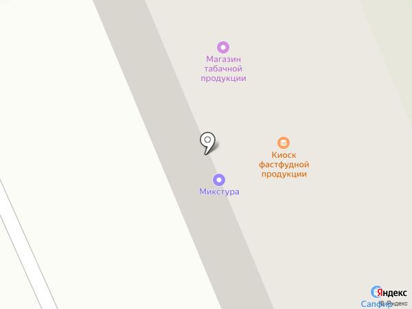 Новое Небо на карте Дзержинска