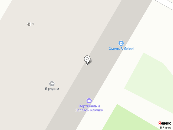 Хмель & Solod на карте Дзержинска