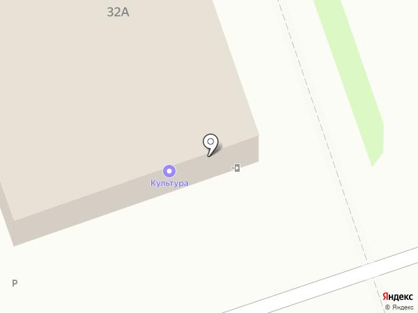 Хаси на карте Дзержинска