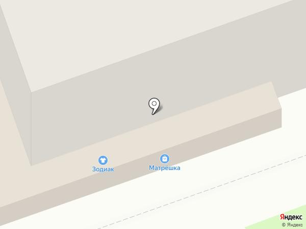 Платежный терминал, Русфинанс банк на карте Дзержинска