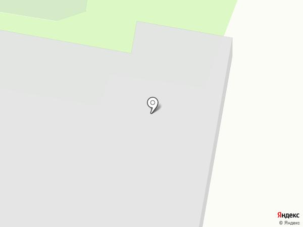 СДЮШОР по фехтованию на карте Дзержинска